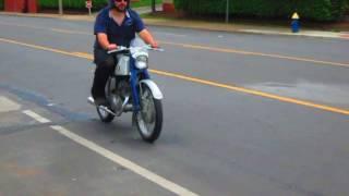 1961 Honda 125 Benly ride by april 19 2017