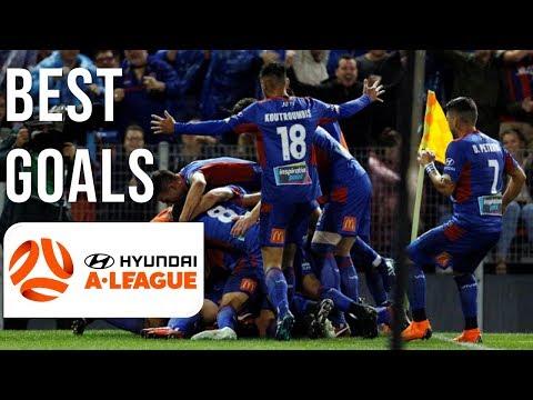 BEST A-League Goals 2017/18 Season | Riley Mcgree, Mierzejewski, Berisha and more