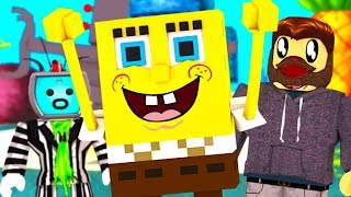 HANGING OUT WITH SPONGEBOB IN ROBLOX ?!