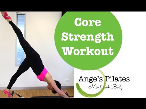pilates 30 minute core strength workout  youtube
