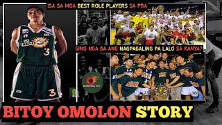 BITOY OMOLON STORY: ISA SA MGA BEST ROLE PLAYERS NG PBA | SINO ANG MAS NAGPAGALING PA LALO SA KANYA?
