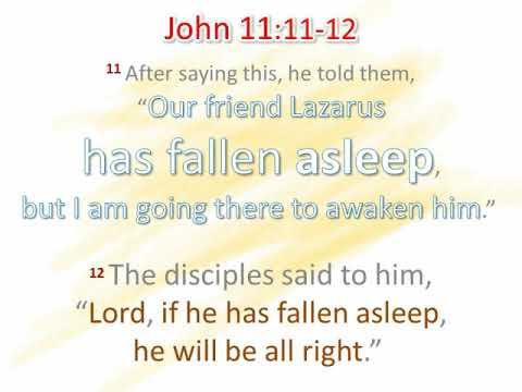 Kuvahaun tulos haulle John 11:11