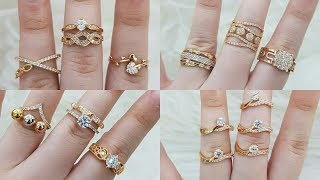 Latest Gold Ring Designs under 3 to 6 Gram