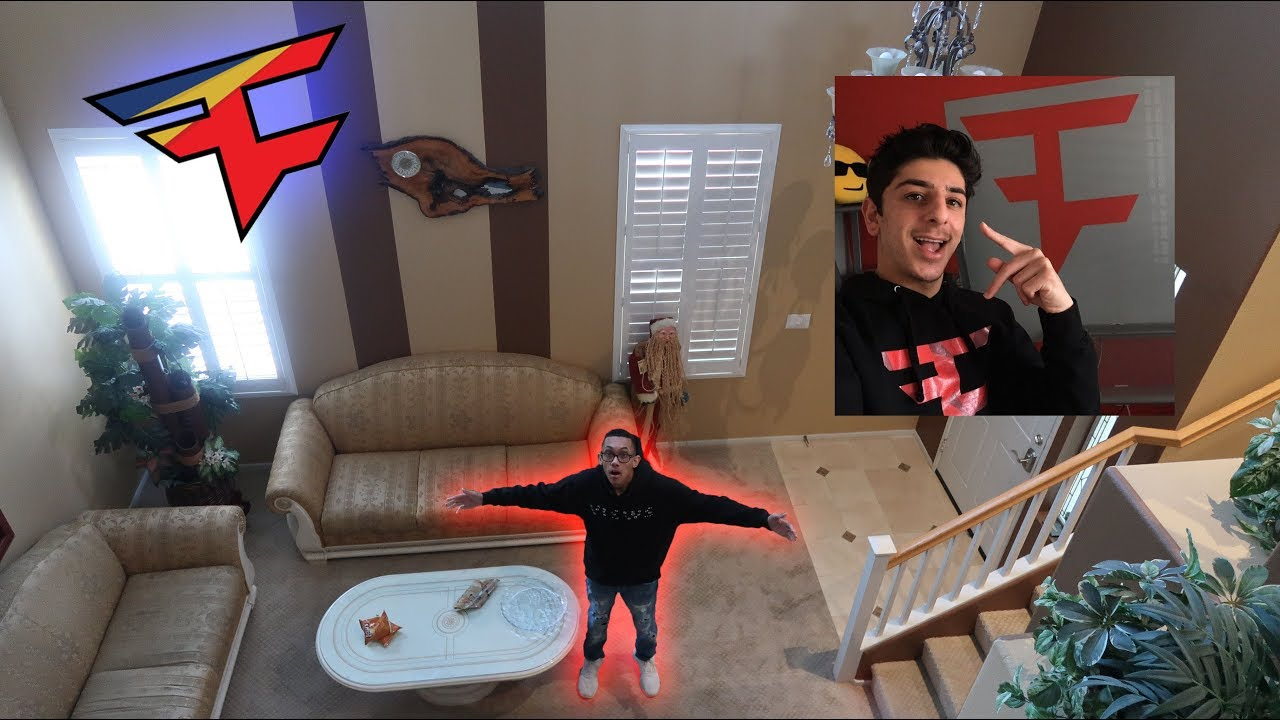 MOVING INTO FaZe RUGS OLD HOUSE!! **RUG