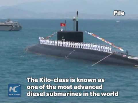 Vietnam receives 6th Russian-made Kilo-class attack submarine