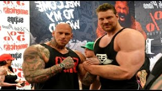 Martyn Ford And Olivier Richters - Giant Vs Giant