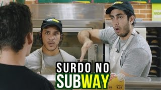 Surdo no SUBWAY - DESCONFINADOS