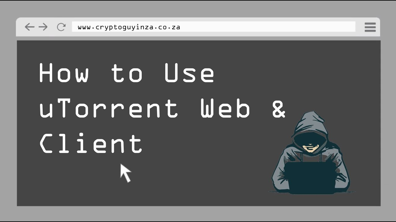 utorrent web how to use