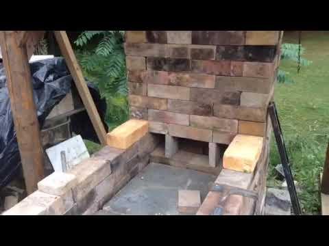 Small wood fired kiln