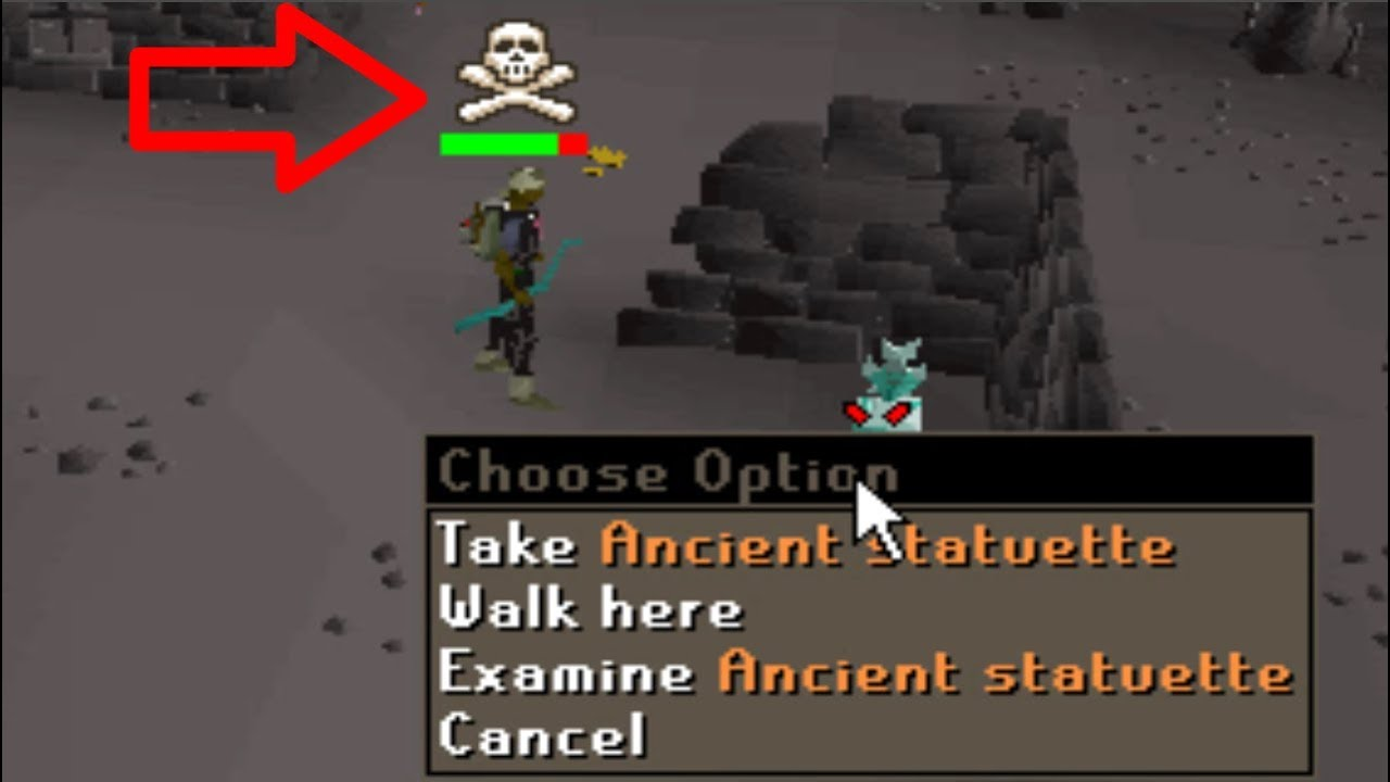 Being Skulled at Revenants Affects Rare Drops #21