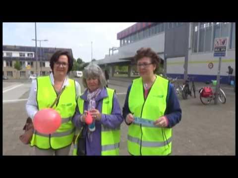Buurt Bestuurt Boomgaardshoek Actie! Wild stallen fietsen bij metro Hoogvliet#