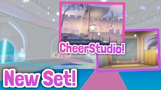 NEW SET! ELEMENTAL DORMS And LOOK AT CHEERLEADING STUDIO! Royale High Leaks