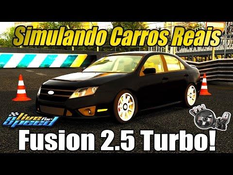 Simulando Carros Reais #3 - Ford Fusion 2.5 turbo! (G27 mod)