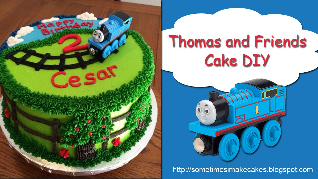 Thomas And Friends Birthday Cake Youtube