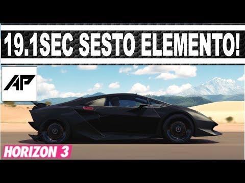 Forza Horizon 3 Lamborghini Sesto Elemento Drag Tune 19 1 Second