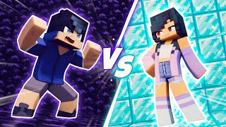 Minecraft OBSIDIAN VS DIAMOND!