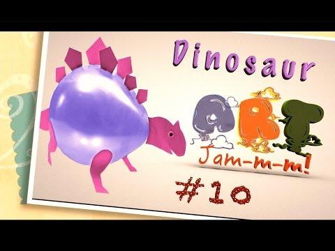Dinosaur Balloon | Crafts for kids | Jurassic world