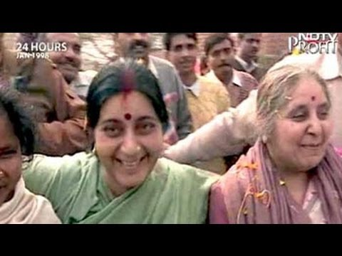 24 Hours: Dilli darshan with Sushma Swaraj (Aired: January 1998)