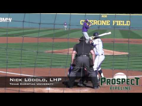 Nick Lodolo Prospect Video, LHP, Texas Christian University
