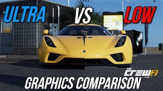 The Crew 2 - Low vs. Ultra Graphics Comparison [FullHD] [60fps]