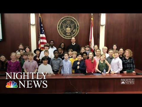 Teacher Becomes U.S. Citizen With Students By Her Side | NBC Nightly News