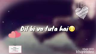 Ek Raat song.... 👍 :SAD: 😭EMOTIONAL:WhatsApp status.... New saD VERSION... 😖😖... STATUS IN 2018