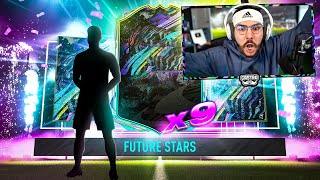 I PACKED 9 NEW FUTURE STARS!! BANGG!! FIFA 21