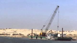 قناة السويس الجديدة: بداية القناة الجديدة من القطاع الشمالى بالبلاح