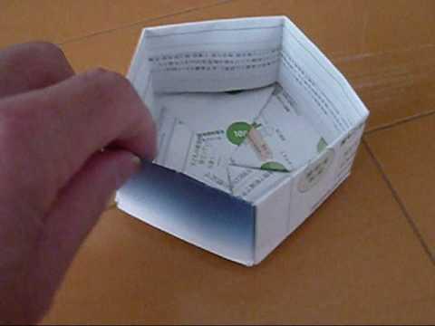 ハート 折り紙:折り紙六角箱折り方-youtube.com
