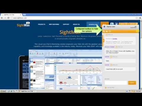 SightMax Floating Inline Chat Window