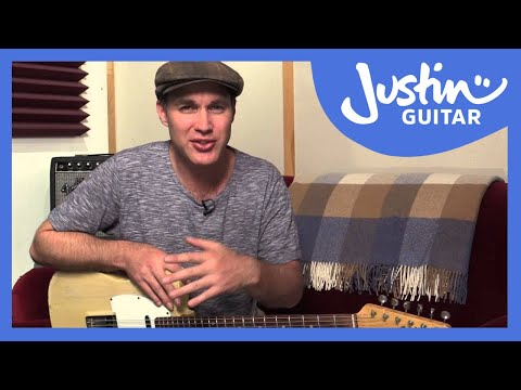How To Learn A Jazz Standard - Guitar Lesson - Justin Guitar [JA-007]