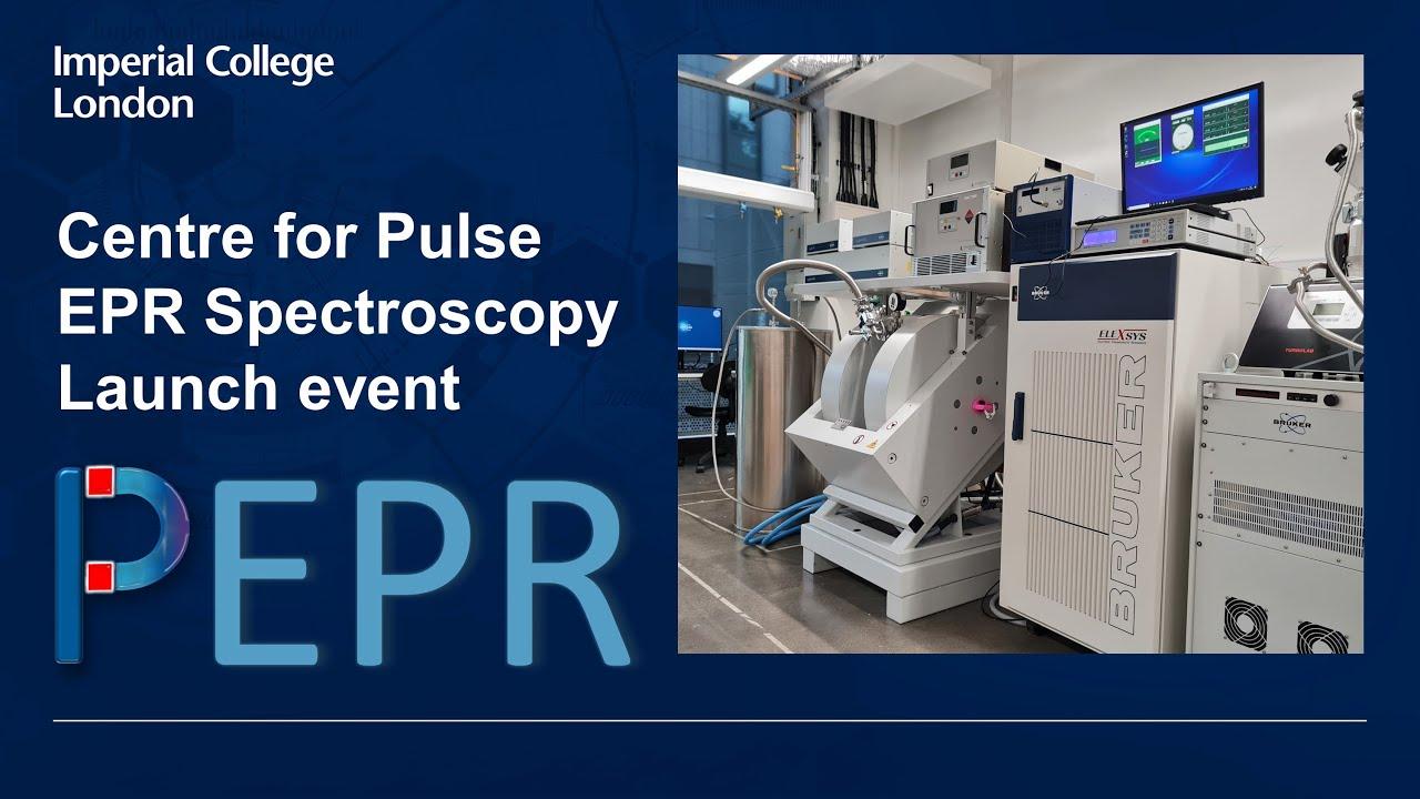 PEPR – Centre for Pulse Electron Paramagnetic Resonance spectroscopy: Launch Event