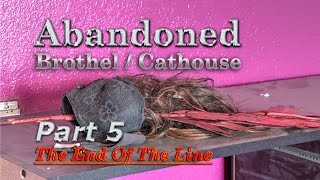 ABANDONED CATHOUSE Full The Girls Left It ALL Behind Panties