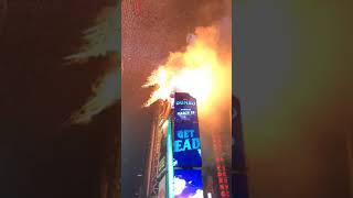2019 New Years Eve at Times Square Countdown to 2019