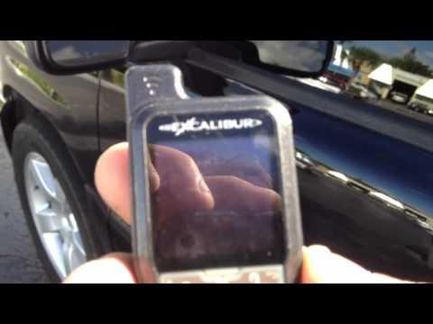 Car alarm system miami Excalibur 2030