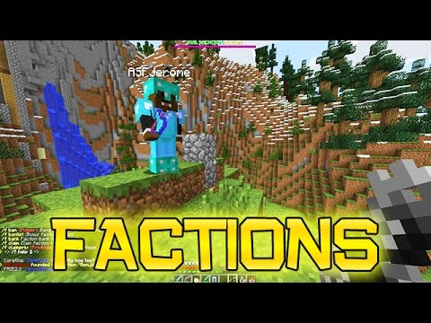 Minecraft: FACTIONS Ep. 1 - How To Play Factions, The Basics!