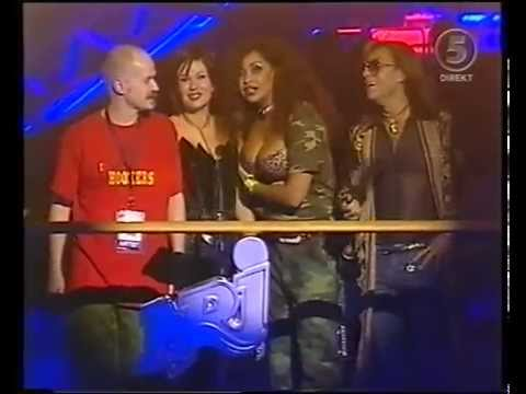 Army Of Lovers: present a NRJ Radio Award
