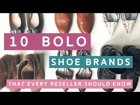 10 BOLO Shoe Brands for Resellers