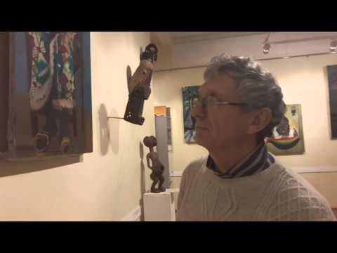 Коллекция африканских масок Александра Клокова.(участник фестиваля Африка.Москва)