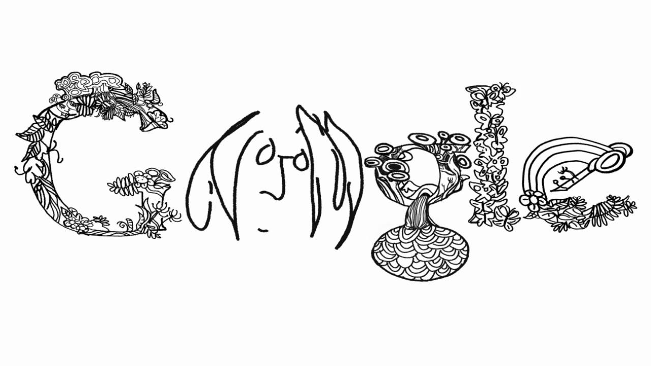 John Lennon Google Doodle