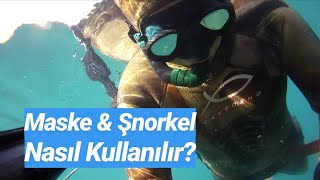 Zıpkınla Balık Avında Maske ve Şnorkel Kullanımı
