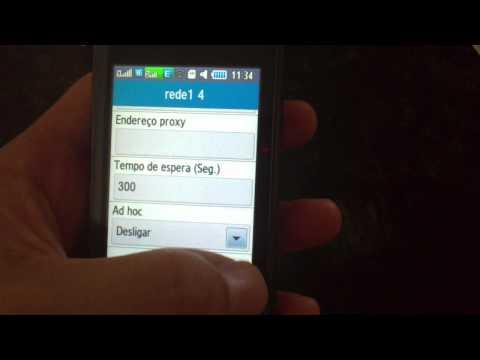 Samsung GT-B7722 problemas conexão wifi.MP4