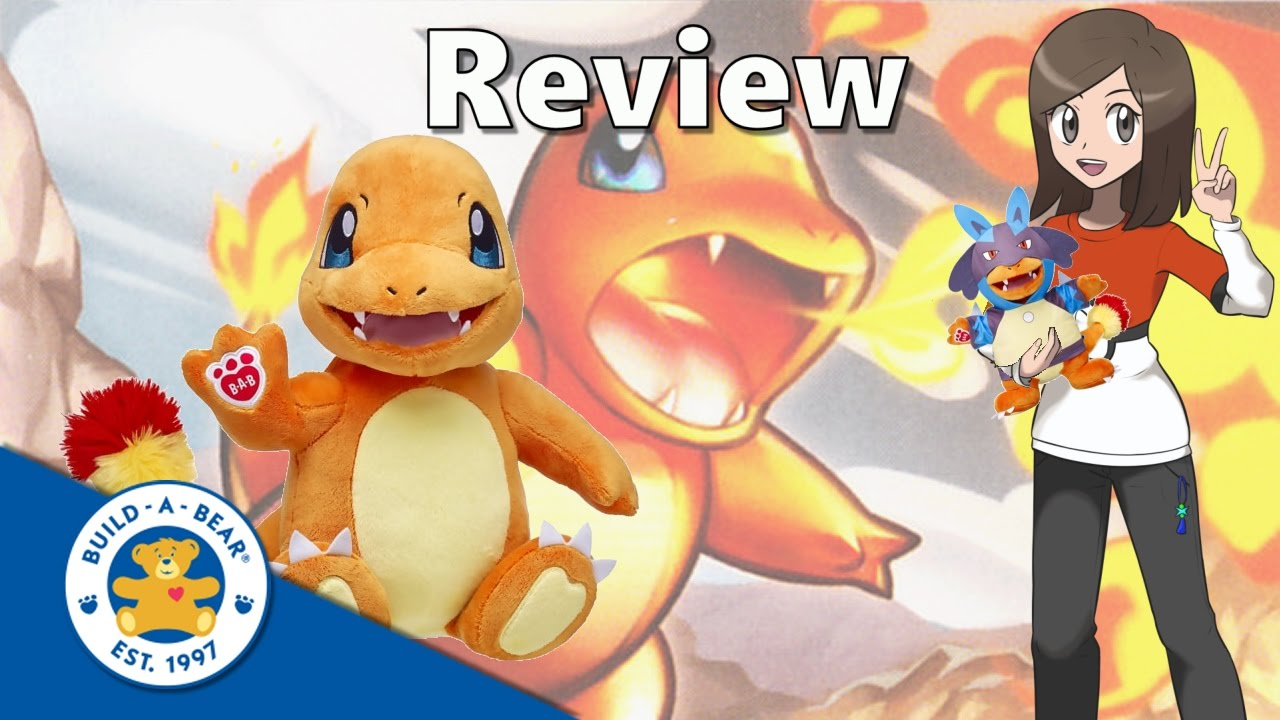 690d7cf705d Pokémon Build a Bear Charmander Review - YouTube