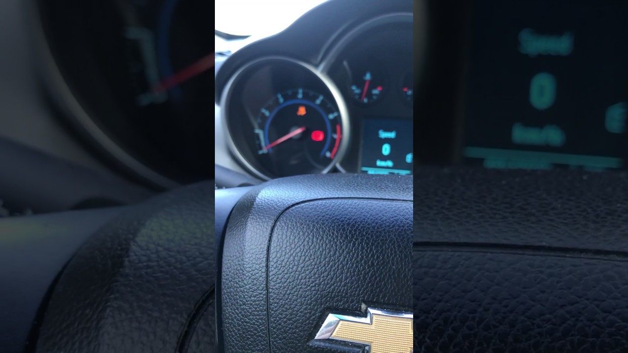 2011 Chevy Cruze, Traction Control Light on and Tachometer not working