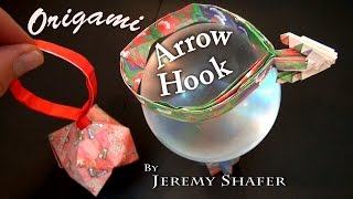 Origami Arrow Hook