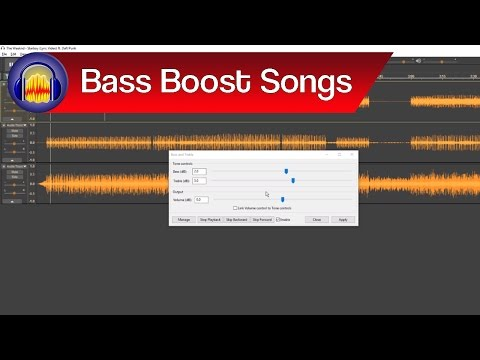 How to Bass Boost a Song in Audacity | Audacity Bass Boost Tutorial