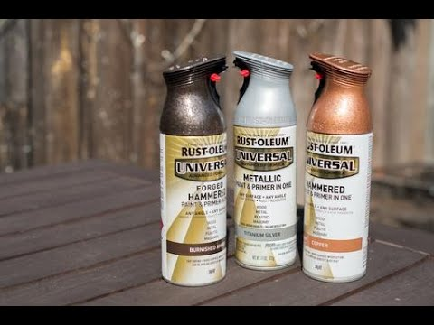 Top 5 Spraypaint Metal Effects Metallic Spray Paint Youtube