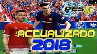 PES 6 ACTUALIZADO 2018 - INFINITTY PATCH 2018 - 2019 Gameplay (Incluye MODO ONLINE)