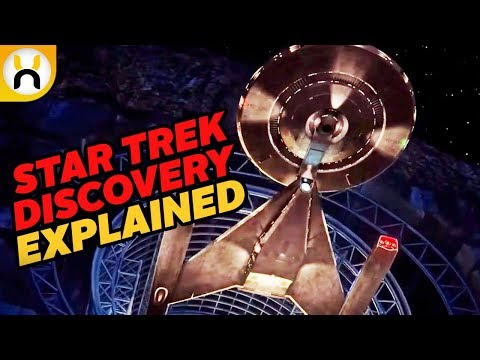 USS Discovery NCC-1031 Ship Design EXPLAINED & Theory