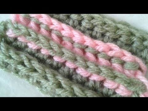 Make A Back Post Half-Double Crochet Stitch - DIY Crafts - Guidecentral